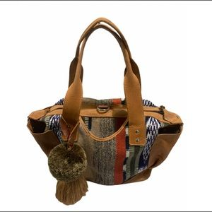 Guatemala Huipil Convertible Shoulder Bag Handmade